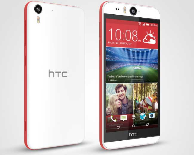 Két 13 megapixeles kamera az új HTC Desire Eye-ban