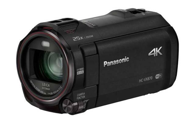 Panasonic HC-VX870 és HC-V770: kamerák 4K és Full-HD képrögzítéssel az otthoni felvételek készítésére