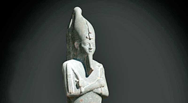 Régészeti leletek, Ptah isten temploma, Luxor