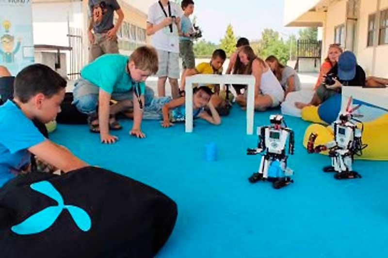HelloWorld Hipersuli bemutató, robotika és 3D nyomtatás