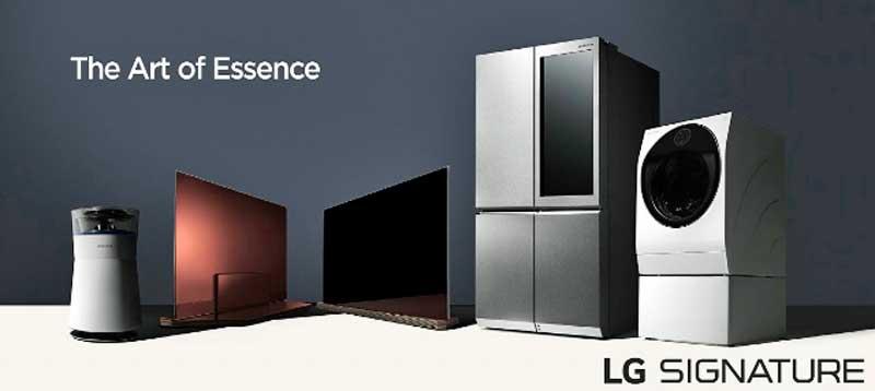 LG SIGNATURE termékcsalád