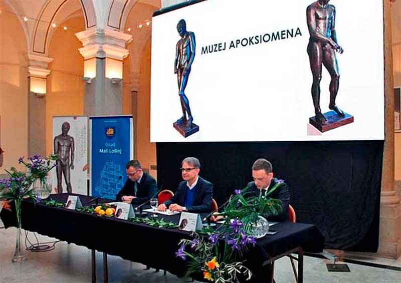 Apoxüomenosz görög atléta csodálatos bronzszobrának nyílik múzeuma Mali Losinjban
