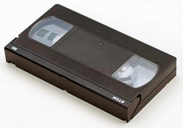 Emlékmentés, digitalizálás: TDK VHS kazetta