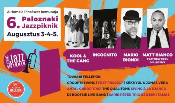 Augusztus elején rendezik a 6. Paloznaki Jazzpikniket