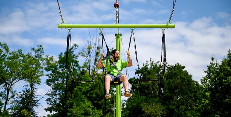 Két új játékelemmel bővült a kislődi Sobri Jóska Élménypark