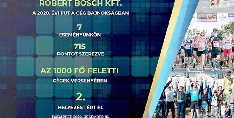 Ismételten a legsportosabb magyar vállalkozások közt a Bosch